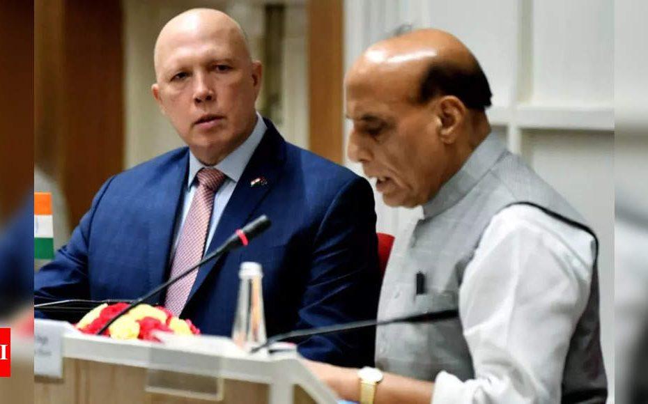L'Inde et l'Australie renforceront leurs liens de défense en prévision de la Chine, exprimant leur inquiétude concernant l'Afghanistan  Inde Nouvelles