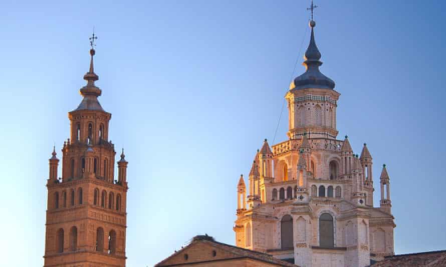 Cathédrale de Santa Maria de la Huerta, Tarazona, Aragon, Espagne, mudéjar cimborio
