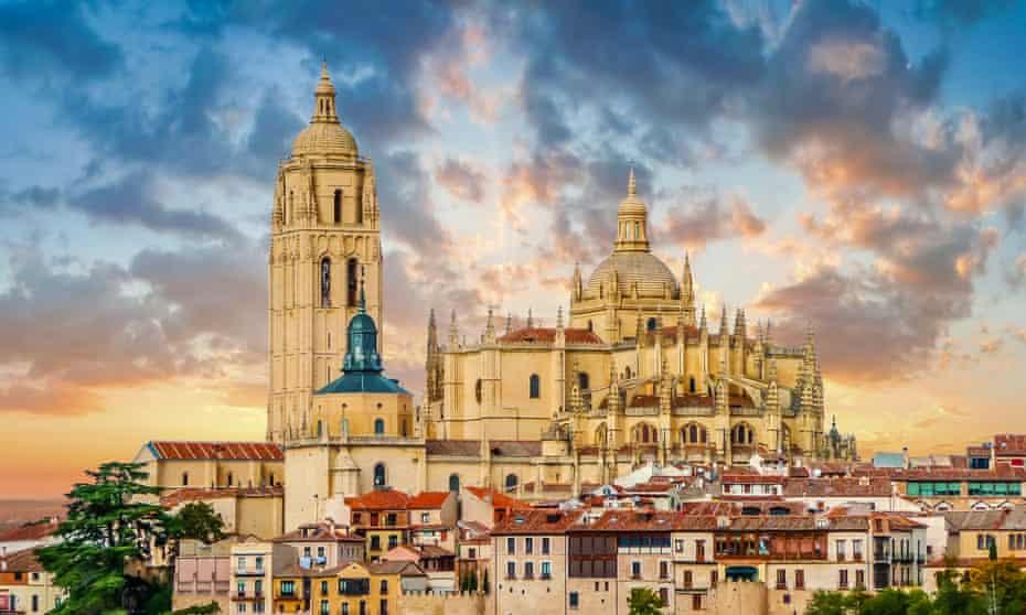 Cathédrale de Santa Maria de Segovia, Castille et Leon, Espagne