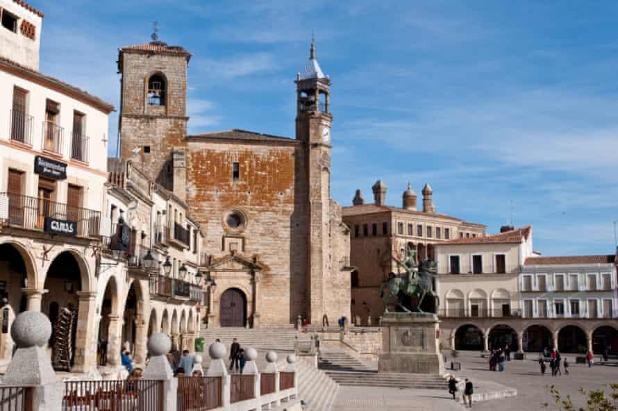 Maire de Plaza, Trujillo, Espagne.