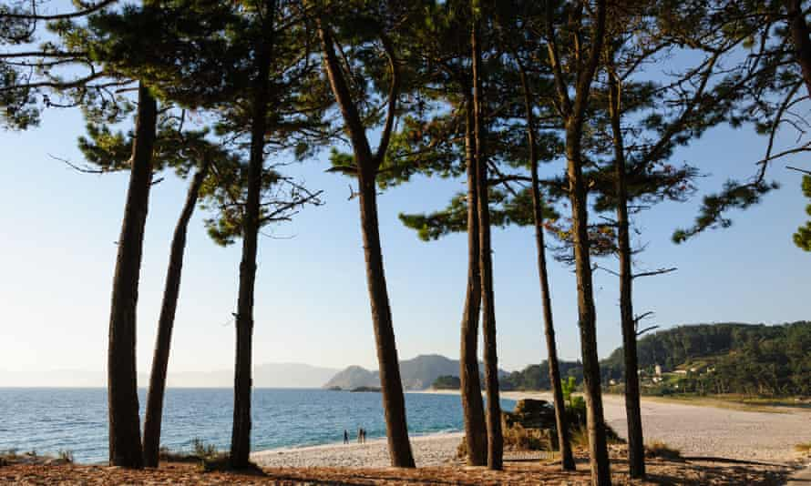 Plage de l'archipel des Cies, près de Vigo.