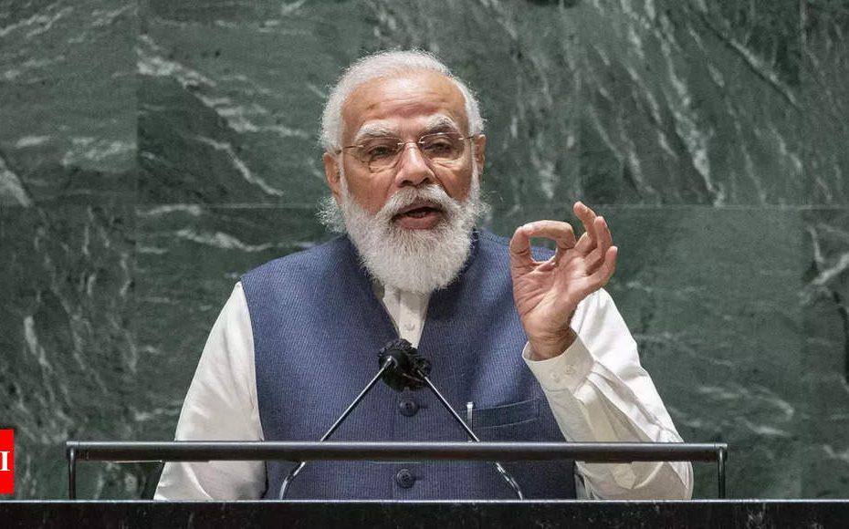Excavation au Pakistan, auberge «faites-le en Inde»: Apportez la clé du lancement de l'UNGA PM Modi |  Inde Nouvelles