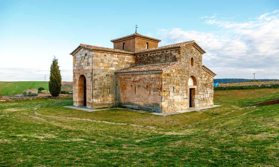 Église de San Pedro de la Nave, près de Zamora.