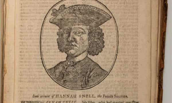 Hannah Snell, qui s'appelait James Gray.